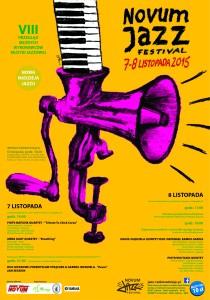 Plakat Novum Jazz Festival 2015